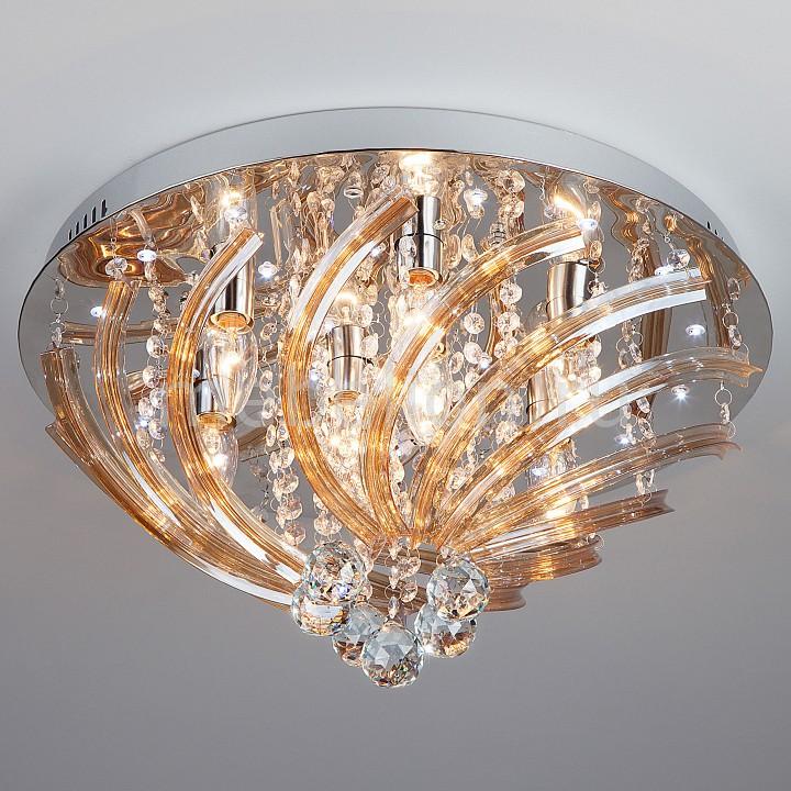 Купить Накладной светильник 80116/8 хром/белый, Eurosvet, Китай