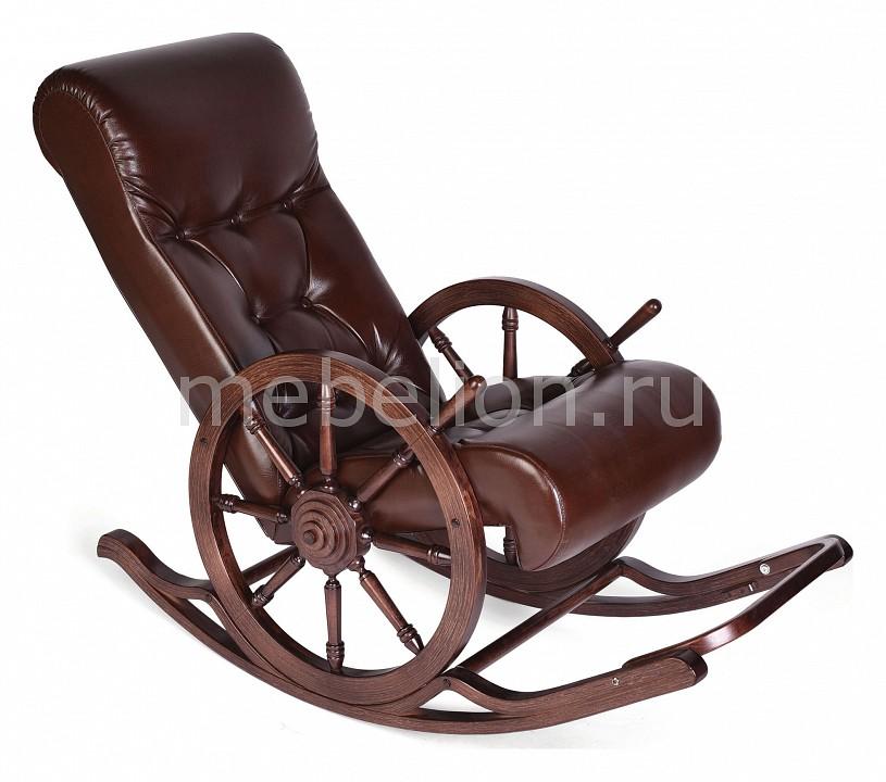 Кресло-качалка Мебелик Тенария 4 кресло качалка мебелик тенария 1 замша бежевый каркас темно коричневый