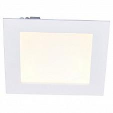 Встраиваемый светильник Arte Lamp A7416PL-1WH Riflessione