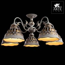 Люстра на штанге Arte Lamp A2814PL-5WG Chiesa