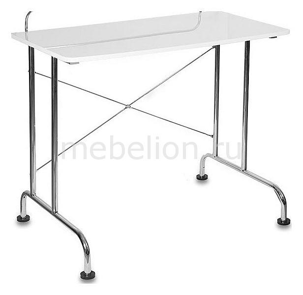 Стол для компьютера Бюрократ DL-HG005 белый