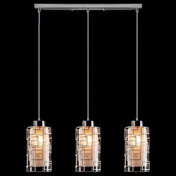 Купить Подвесной светильник 50002/3 хром, Eurosvet, Китай