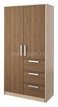 Шкаф платяной Мика СТЛ.112.02 дуб кремона/ясень кассино