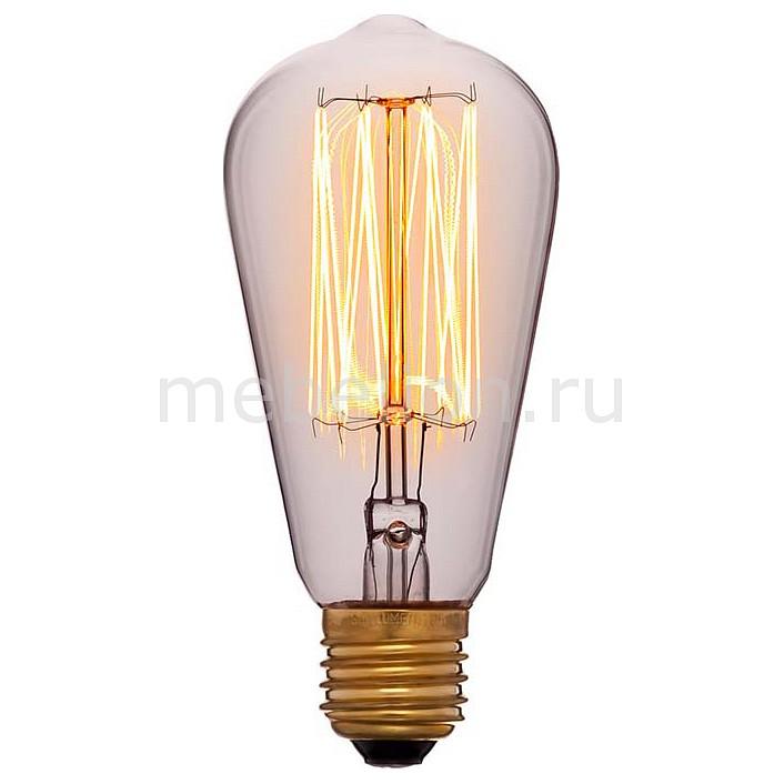 Лампа накаливания Sun Lumen ST58 E27 60Вт 240В 2200K 053-228