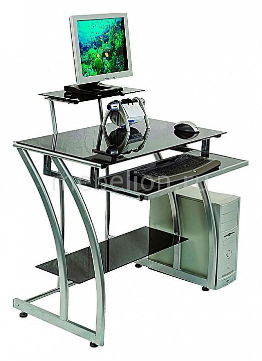 Стол компьютерный GD-010 прямой черный