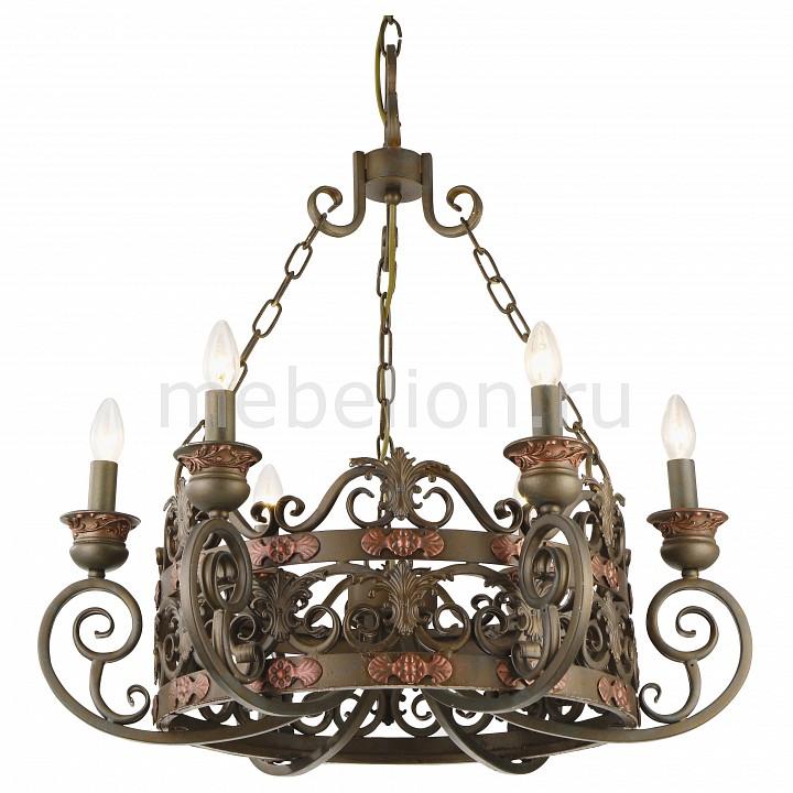Купить Подвесные люстры Capitello A8852LM-6BR  Подвесная люстра Arte