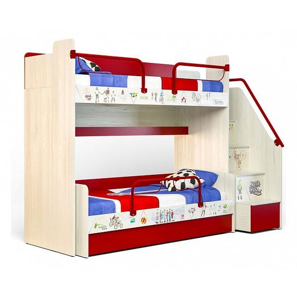Кровать двухъярусная Сканд-Мебель