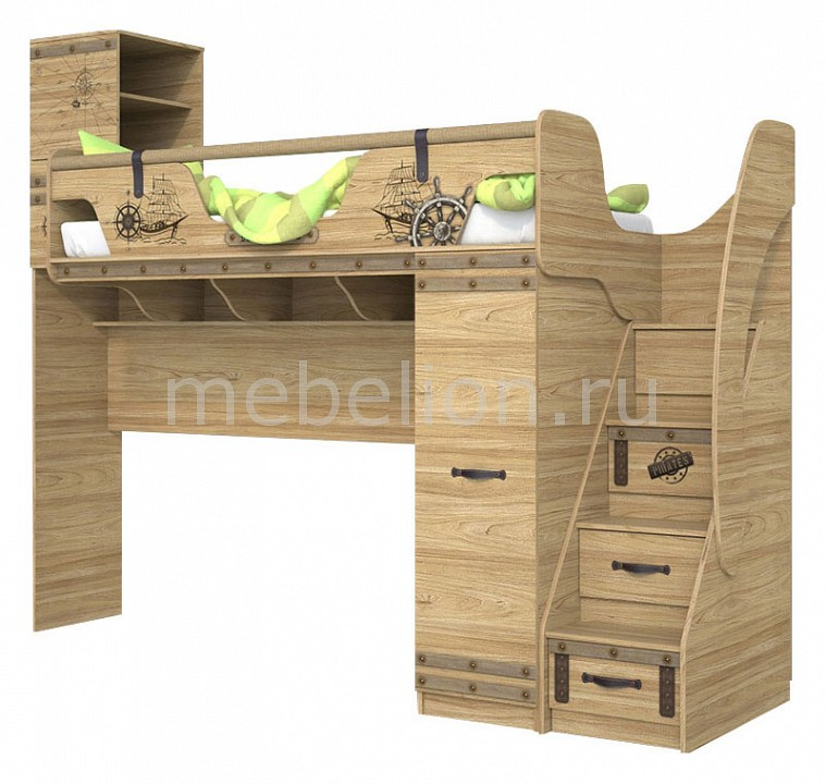 Набор для детской Сканд-Мебель Корсар-4