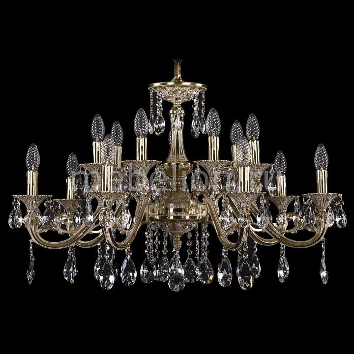 Подвесная люстра Bohemia Ivele Crystal 1703/14/320/A/GI 1703