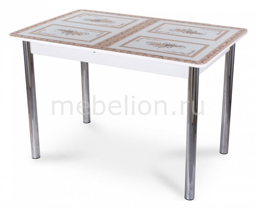 Стол обеденный Гамма ПР со стеклом