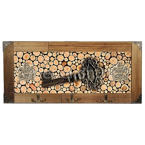 Настенная вешалка (52х23 см) Ключ 314-6