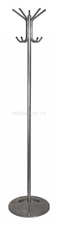 Вешалка напольная Бюрократ Вешалка-стойка Бюрократ CR-001 серый основание круглое металлическая H180 см, основ. D36см