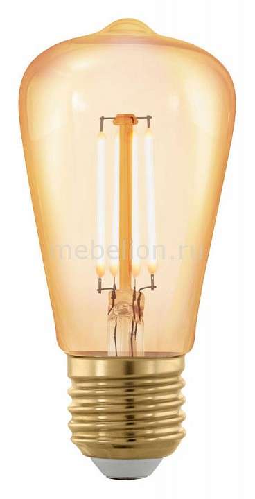 Лампа светодиодная Eglo Golden Age E27 220-240В 4Вт 1700K 11695