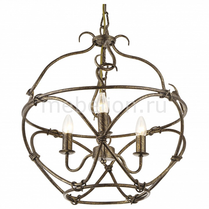 Подвесная люстра Arte Lamp Bellator A8960SP-3GA arte lamp подвесная люстра arte lamp bellator a8960sp 3ga
