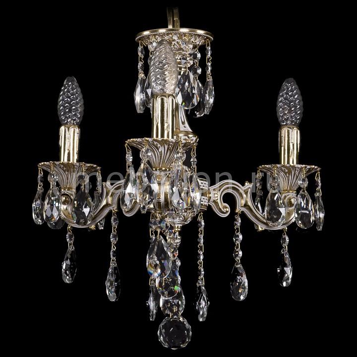 Подвесная люстра Bohemia Ivele Crystal 1707/3/125/B/GW 1707