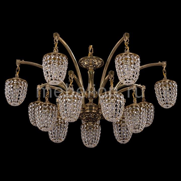 Подвесная люстра Bohemia Ivele Crystal 1772/14/342/GB 1772