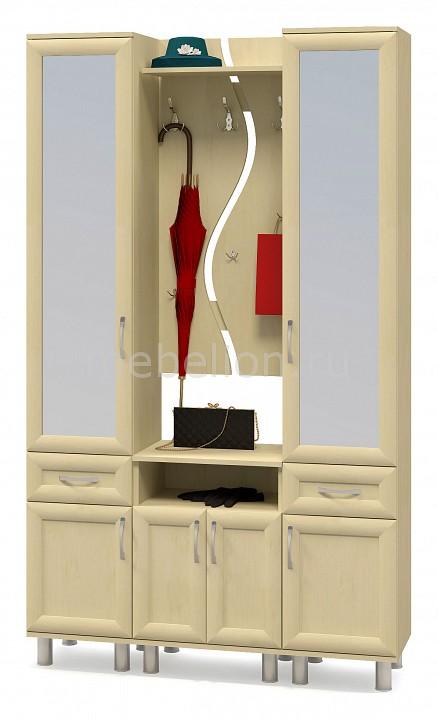 Стенка для прихожей Компасс-мебель Уют зеркало уют