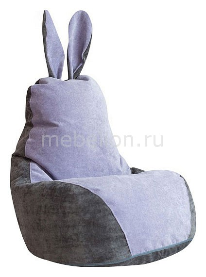 Кресло-мешок Dreambag Зайчик Серо-Лавандовый