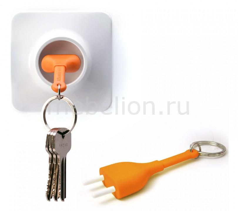 Ключница (8х8 см) Qualy QL10076-OR