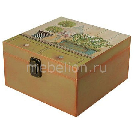 Шкатулка декоративная (24х24х13 см) Прованс 1012-10