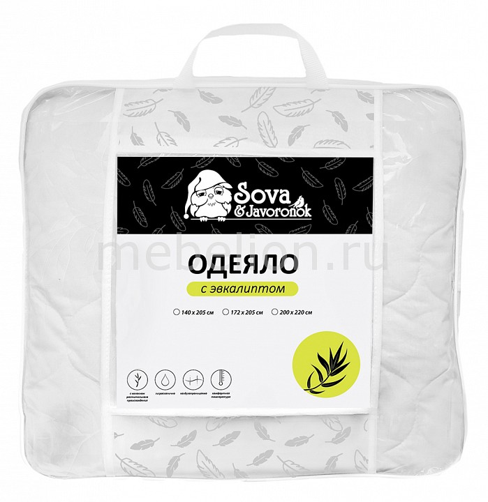 Одеяло евростандарт Сова и Жаворонок