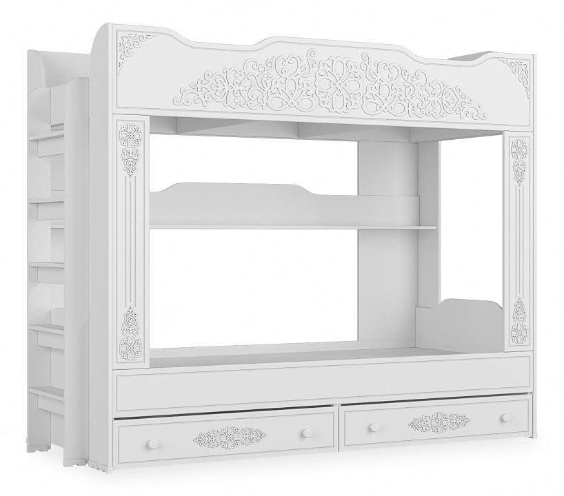 Купить Кровать двухъярусная Ассоль АС-25, Компасс-мебель, Россия