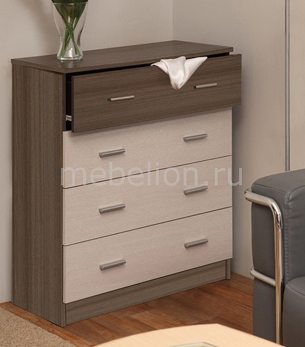 Комод Олимп-мебель Дуэт-1 атон мебель комод раскладной мод кр 80к 4 пвх венге ваниль зайка 4 ящика зайка ясень шимо светлый голубой