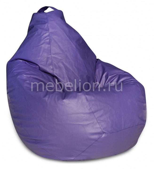 Кресло-мешок Dreambag Фиолетовая ЭкоКожа XL цена