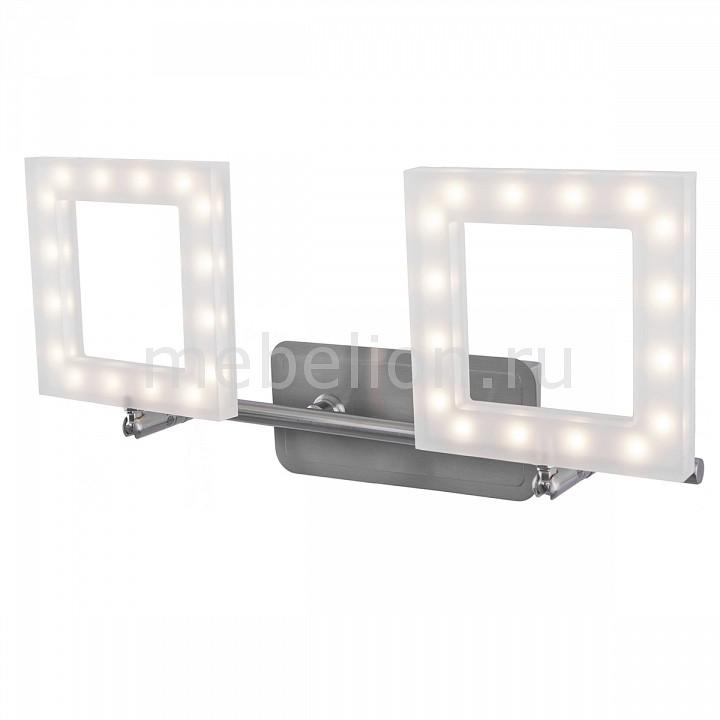 Бра IDLamp Piazza 106/2A-LEDWhitechrome