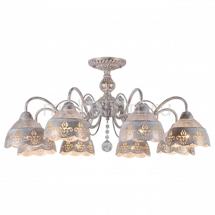 Люстра на штанге Arte Lamp Sicilia A9106PL-8WG arte lamp a9395lm 8wg