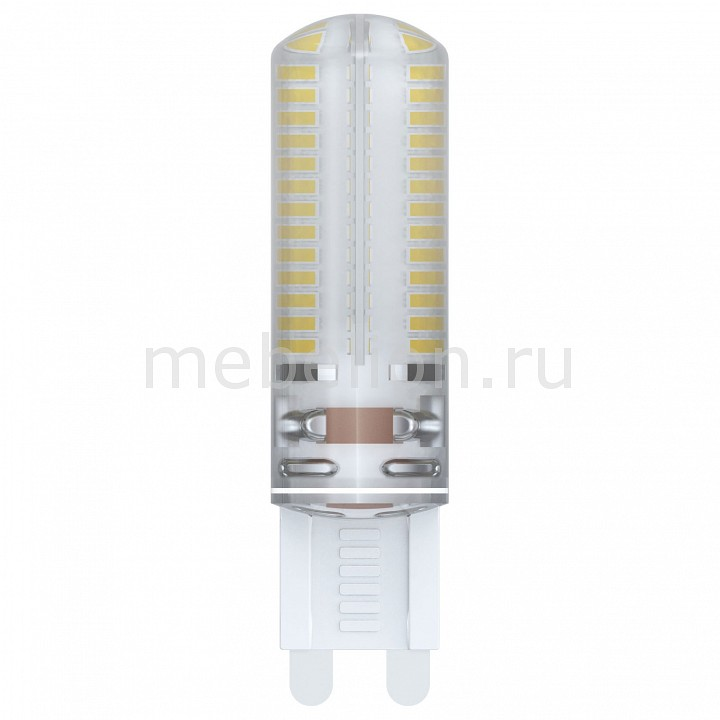 Лампа светодиодная Uniel G9 220-240В 6Вт 3000K LED-JCD-6W/WW/G9/CL SIZ03TR hzled g9 4w 400lm 3000k 36 smd 5630 led warm white light corn lamp white ac 220 240v