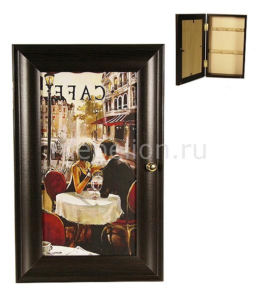 Ключница (16.5х26.5 см) Парижское кафе P311-10  диван кровать фиеста иваново