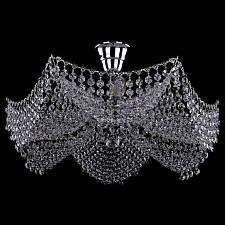 Люстра на штанге Bohemia Ivele Crystal 7708/6/Ni 7708