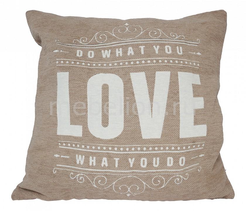 Подушка декоративная ОГОГО Обстановочка (45х45 см) Love цена