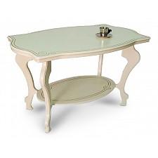 Стол журнальный Мебелик Берже-1 цвет слоновая кость