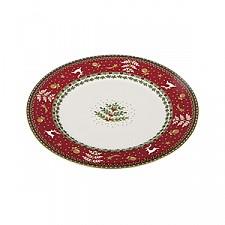 Тарелка плоская АРТИ-М (20.7х1.6 см) Christmas collection 586-316