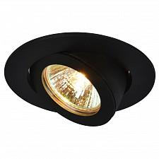 Встраиваемый светильник Arte Lamp A4009PL-1BK Accento