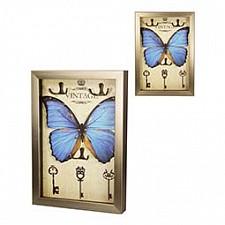 Ключница Акита (23х33 см) Бабочка-AKI 7364