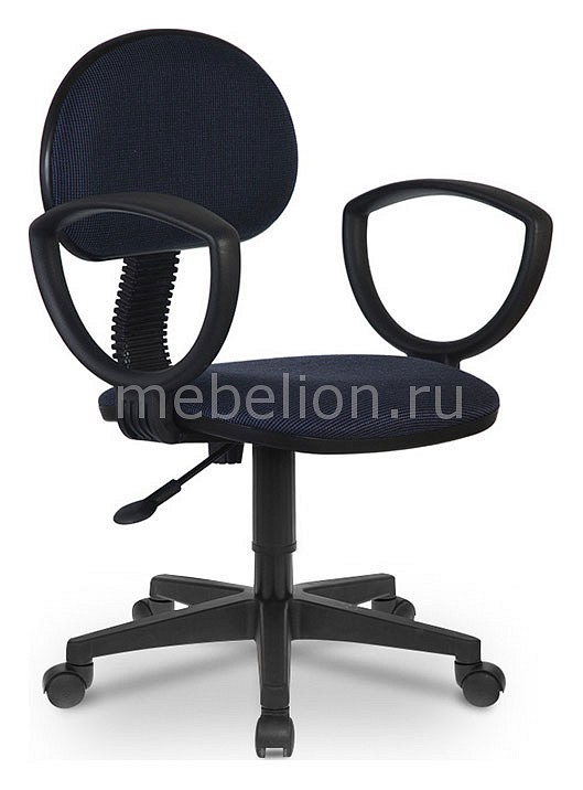 Кресло компьютерное CH-213AXN синий/черный  тумбочка под ноутбук