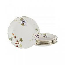 Набор из 6 тарелок плоских Фрутта 590-160