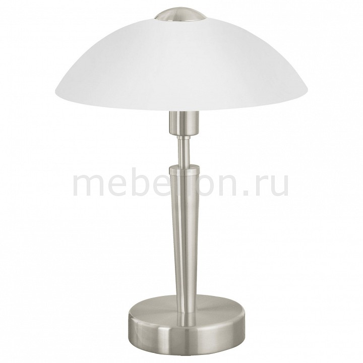 Настольная лампа Eglo декоративная Solo 85104 настольная лампа eglo 85104