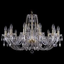 Подвесная люстра Bohemia Ivele Crystal 1406/12/300/G 1406