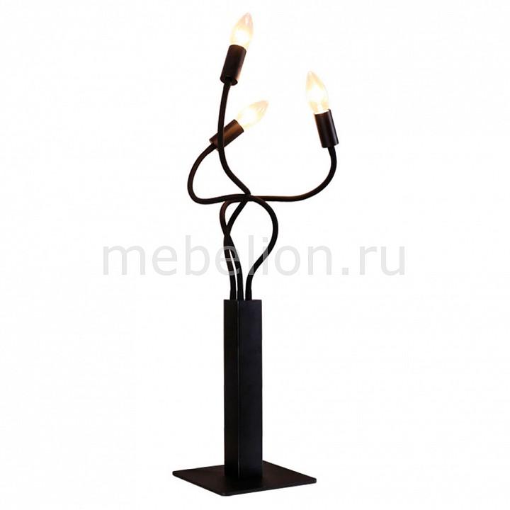 Настольная лампа декоративная Roots LOFT1714T-BL