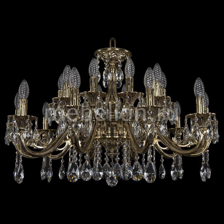 Подвесная люстра Bohemia Ivele Crystal 1703/20/320/A/GB 1703