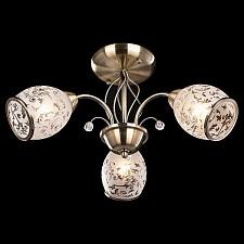 Люстра на штанге 30026/3 античная бронза