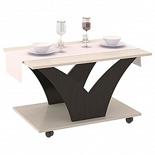 Стол журнальный Мебель Трия Тип 4 венге цаво/дуб молочный