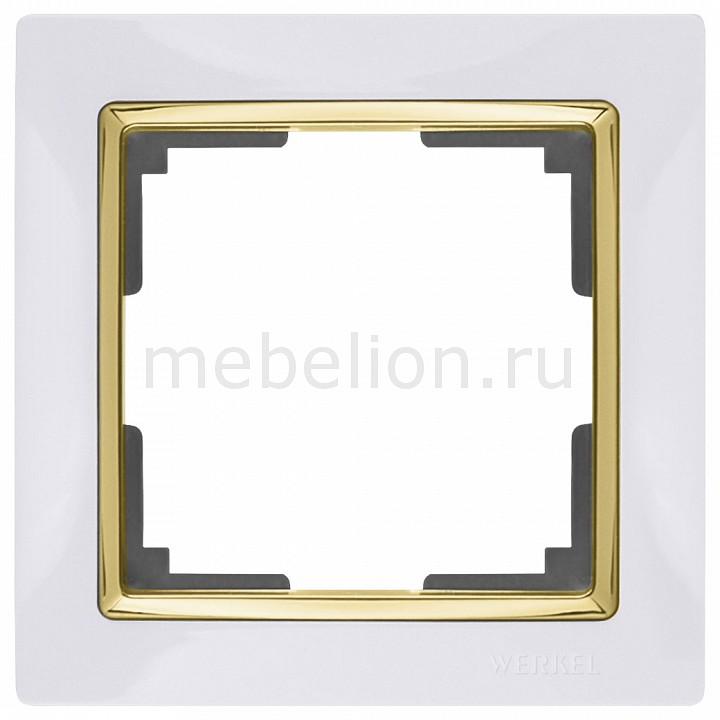 Рамка на 1 пост Werkel Snabb WL03-Frame-01-white-GD