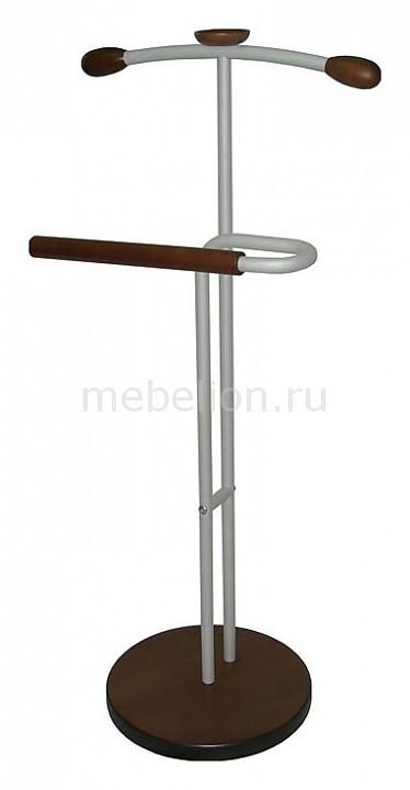 Вешалка для костюма Галант 336 алюминий/средне-коричневый