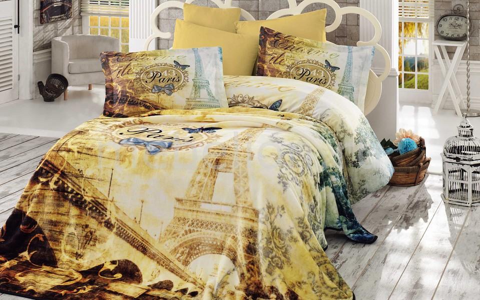 Комплект с покрывалом евростандарт HOBBY Home Collection VIVALDI платье vivaldi vivaldi mp002xw13xag