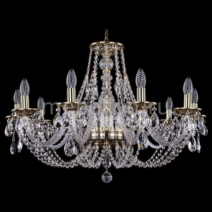 Подвесная люстра Bohemia Ivele Crystal 1606/10/300/GB 1606